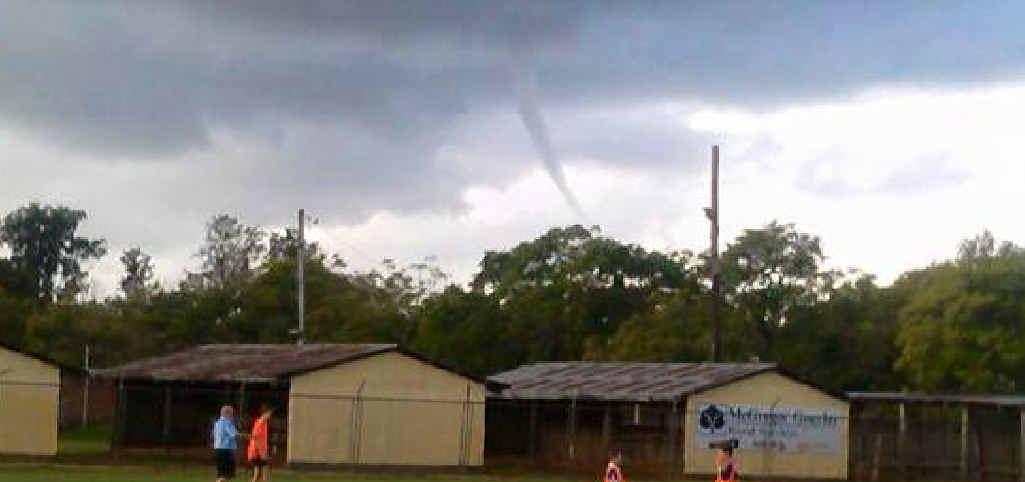 RARE SIGHT: Danny Foster's photo of Saturday's tornado.