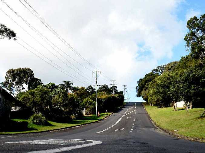 THE SCENE: A young man has died after falling while riding a skateboard down Cynthia Wilson Dr, Goonellabah.