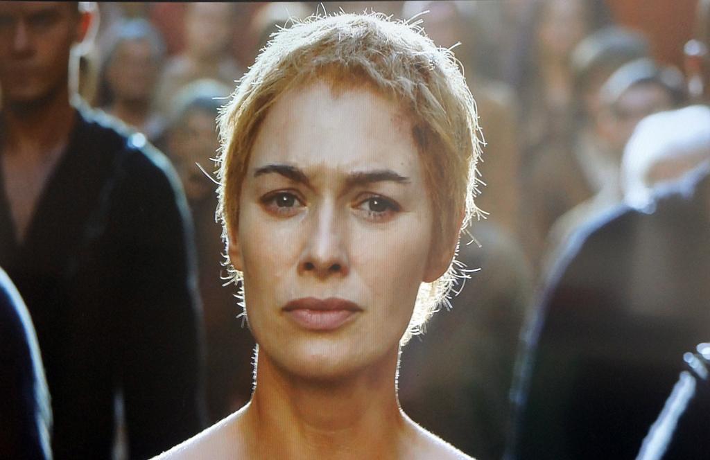 Lena Headey in a scene from Cersei's
