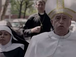 WATCH: Pope Francis takes on climate change in film spoof