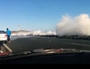 Raw: Huge waves block roads in NZ