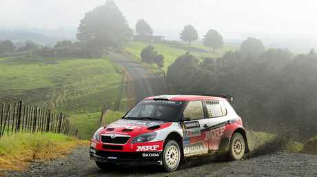 Pontus Tidemand of Sweden in his Skoda Fabia Super 2000 will be favourite for the 2015 Rally Queensland event. Photo: Contributed