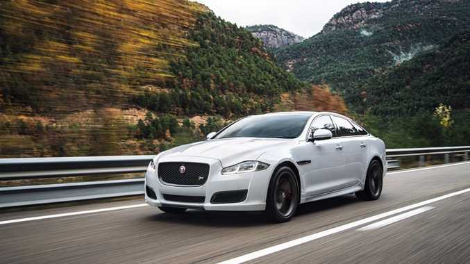 SPORTING PALACE: Jaguar XJR has supercharged 5.0-litre V8 and hits 100kmh in just 4.6-seconds.