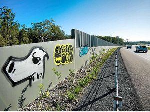 Street art tackles graffiti vandalism