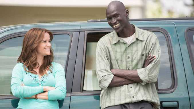 THE GOOD LIE: Reese Witherspoon and Ger Duany in a scene from the film that will be screened tomorrow.