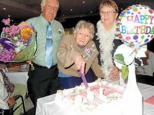 Gympie's Rhoda celebrates her 100th birthday