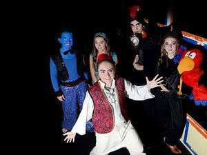 Whole new world for audiences in schools' Aladdin play