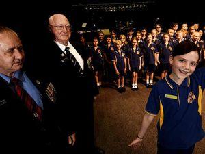 Lismore school choir's hymn to play at veterans' funerals