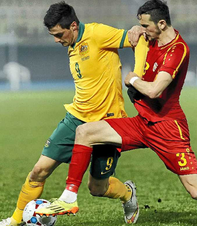 Tomi Juric (left) is confident.