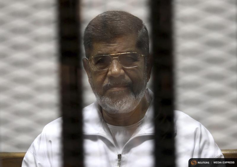 Former Egyptian President Mohamed Mursi
