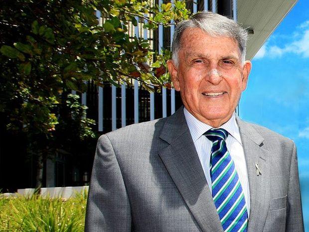 Former Olympian and Mayor Ron Clarke
