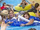 Monster water slide makes Toowoomba splash-back