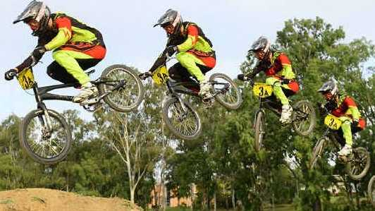 SERIOUS SKILLS: Ipswich and West Moreton BMX Club member 16-year-old Matt Krasevskis is heading to the UCI BMX World Championships in Belgium.