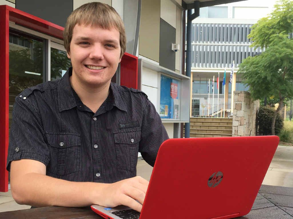 HIGH ACHIEVER: Dean Bussian has a bright future ahead after securing employment with BHP Billiton.
