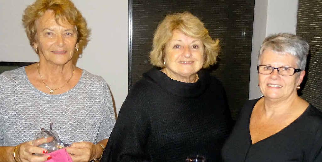 QUIZ TIME: Zonta trivia night organisers Carole Brauner, Dawn Green and Kerrie Adam.