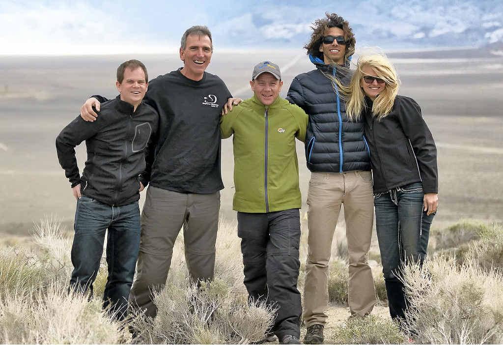 Roger Hugelshofer, Glenn Singleman, Paul Tozer, Vincente Cajiga and Heather Swan.