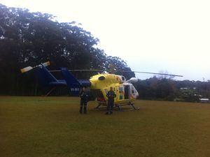 Chopper rescues bushwalker from Mapleton Falls National Park
