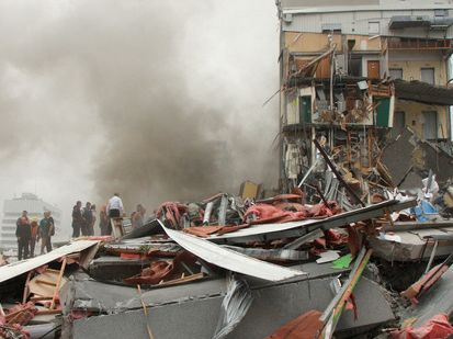 The CTV building collapsed in the February 2011 earthquake, killing 115 people.