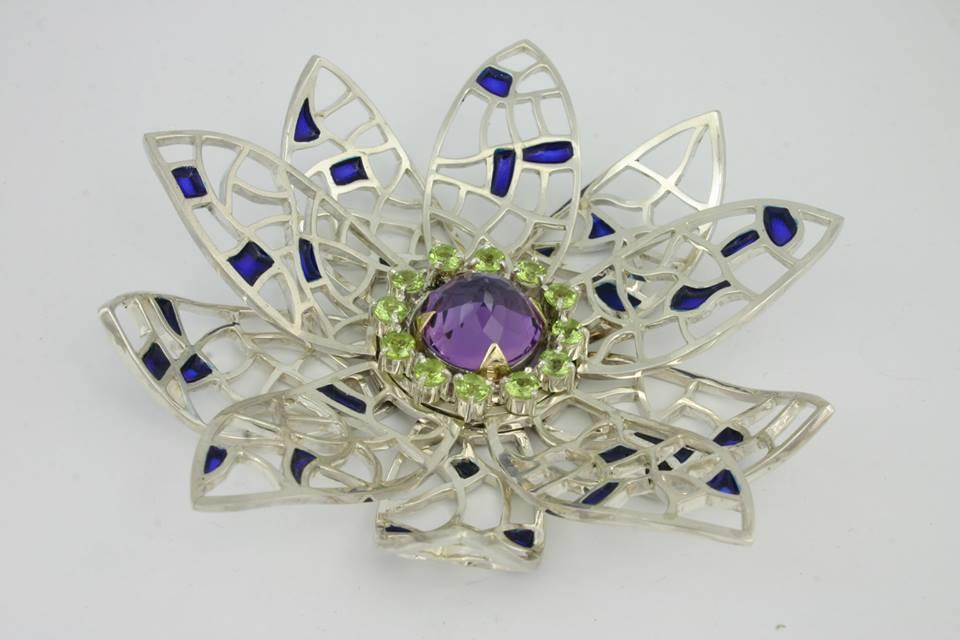A piece by Matthew Alexander, mobile jeweller.