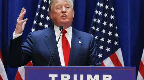 Donald Trump claimed delegates in seven states and looks set to take on Hilary Clinton in the general election.