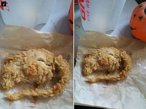 KFC labels 'fried rat' photo a hoax