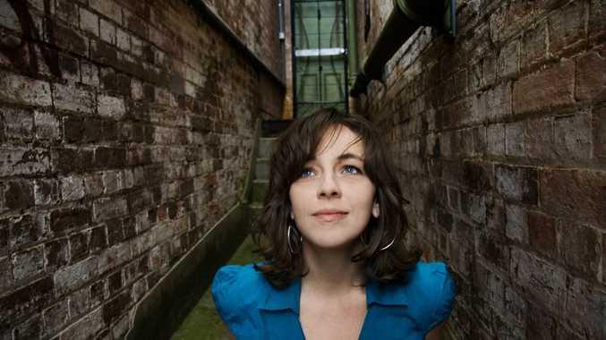 Australian singer songwriter Lucie Thorne.