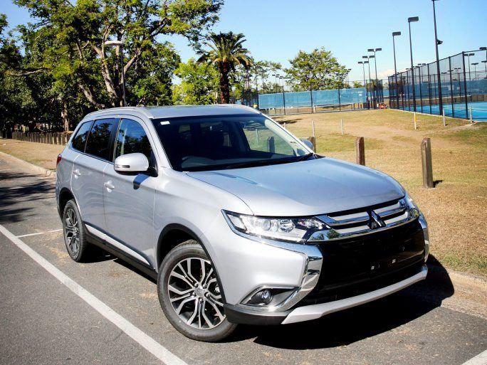 All new Mitsubishi Outlander, exclusive to Tropical Auto Group. Photo Tamara MacKenzie / The Morning Bulletin