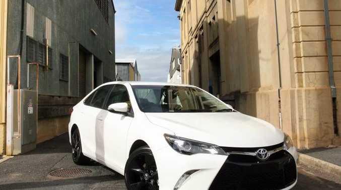 All new Toyota Camry Atara SX, exclusive to Ian Weigh Toyota. Photo Tamara MacKenzie / The Morning Bulletin