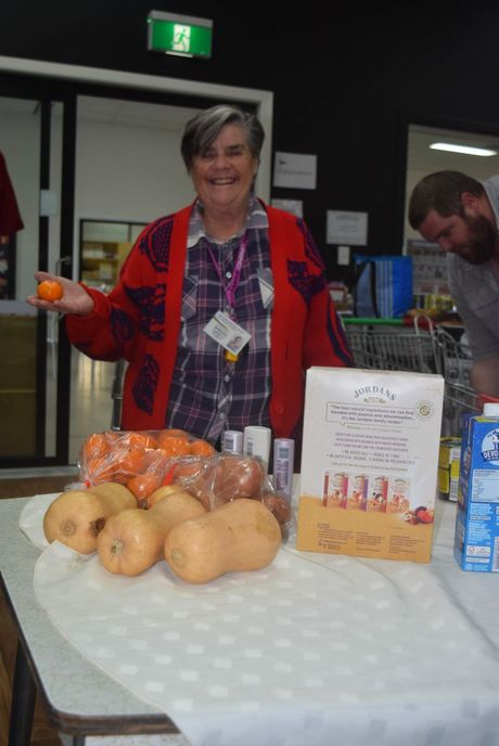 Granite belt families doing it tough stanthorpe border post for Loaves and fishes volunteer