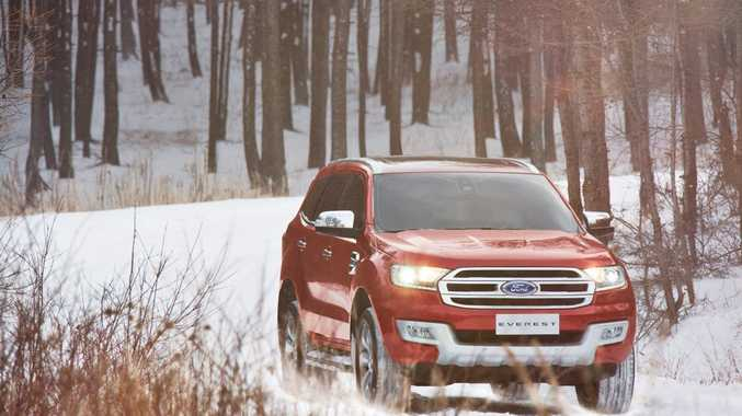 SUV DESIRE: Families are falling for the all-round abilities of SUVs like the forthcoming Ford Everest