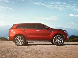 New Ford Everest SUV