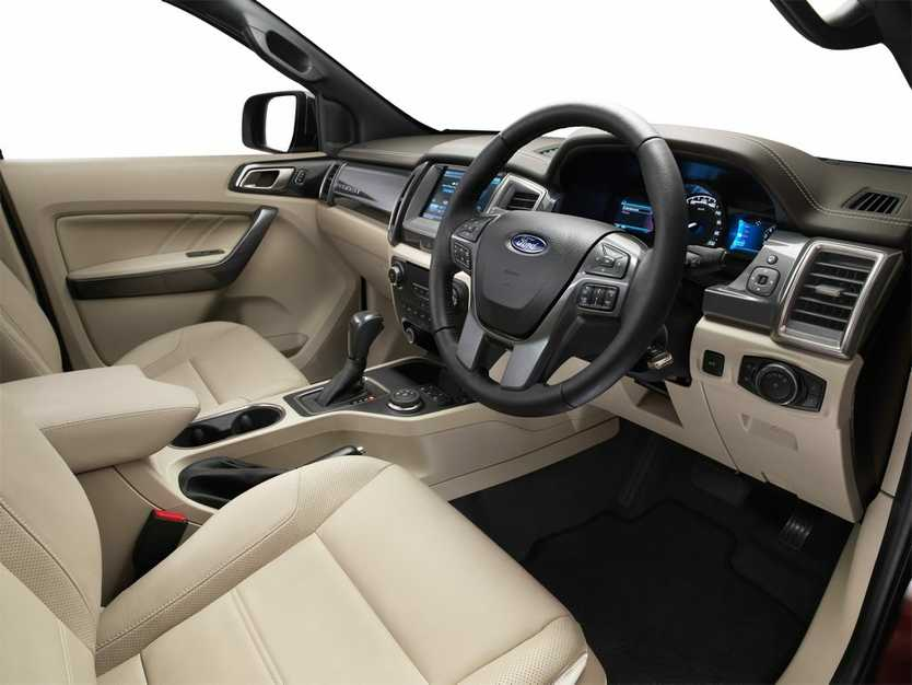 2015 Ford Everest is a large seven-seater SUV. Photo: Contributed