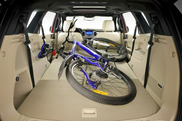 BIG BOY: Seven-seater can fold down its pews to give over 2000-litres of storage space