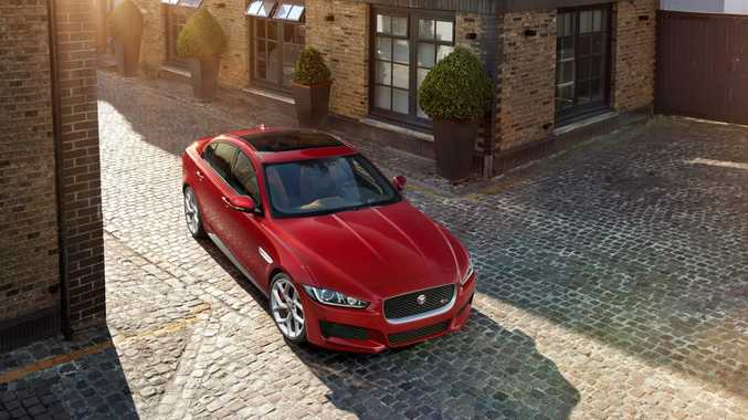 COMING SOON: Hitting Australia on September 1, Jaguar's new XE will take on 3 Series, C-Class and A4 rivals with $60,400 price tag.