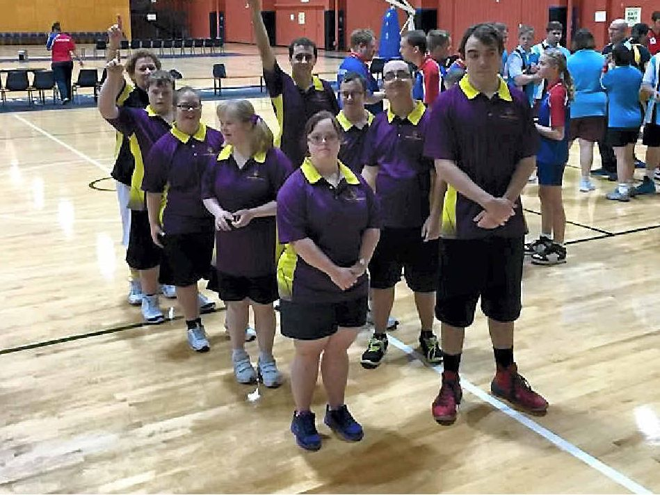 Mackay Fire's Kimberly Doyle (coach), Frank De Battista, TJ Straw, Tegan O'Keeffe, Shannon Holford, Georgia Knoll, Anthony Cahill, Donna Barnett, Shane Cooks competed in Queensland's inter-regional basketball games.