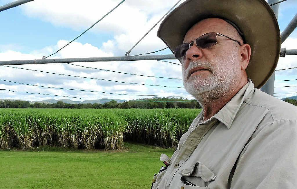 IMPORTANT MOVE: Koumala cane farmer Serg Berardi says getting a code of conduct surrounding sugar marketing is critical.