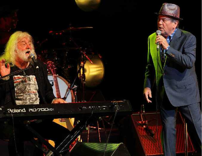 Brian Cadd and Glenn Shorrock will be bringing a little ray of sunshine to the Pilbeam Theatre.