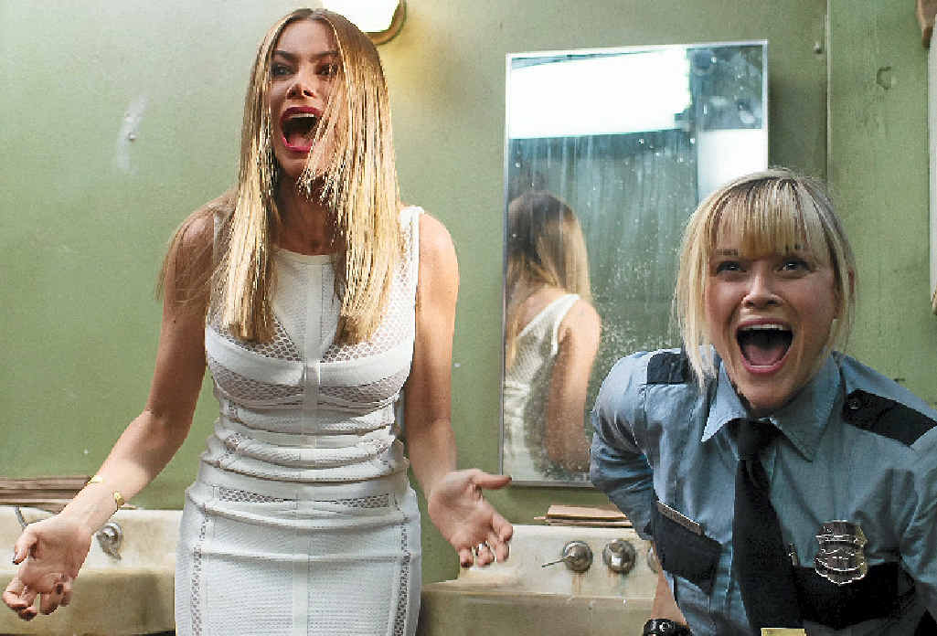 COMEDY: Sofia Vergara and Reese Witherspoon in Hot Pursuit.