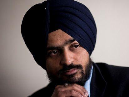 Gurpreet Singh says he tried to explain the turban was part of his faith.