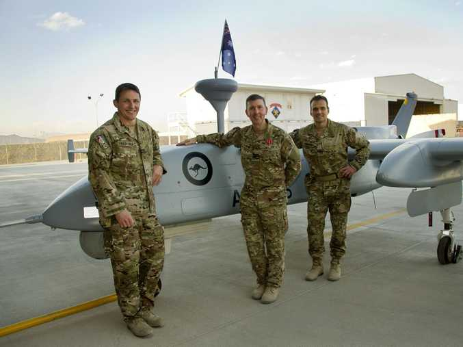 Operation Slipper's fifteenth and final Heron Remotely Piloted Aircraft (RPA) detachment flew its last mission from Afghanistan's Kandahar Airfield on 30 Nov 14.  Since August 2009 Heron flights have completed over 27,000 mission hours providing high resolution intelligence, surveillance and reconnaissance support to Australian.