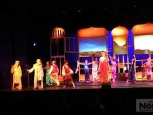 Rivers P-12 schools production of Aladdin