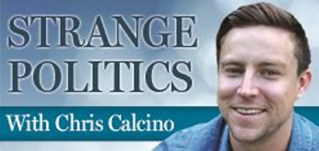STRANGE POLITICS with Chris Calcino
