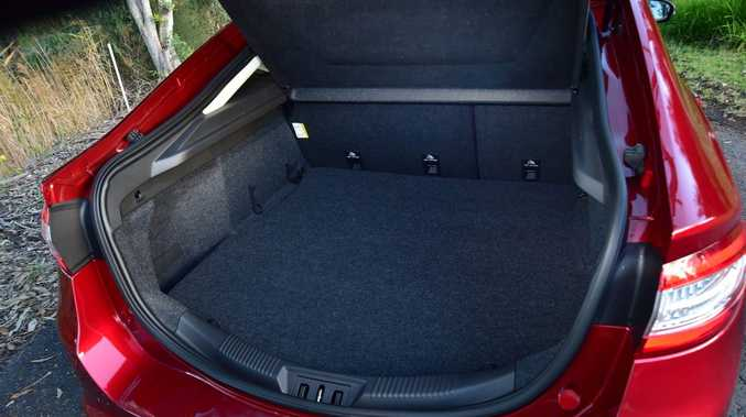 EASY ACCESS: Mondeo's hatch opening makes loading easy.