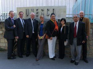 Nine Toowoombaites return from peace mission in Paris