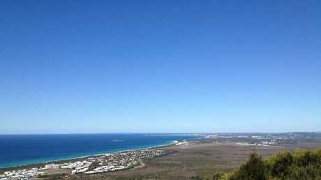 The views from the top of Mt Coolum can not be beat.