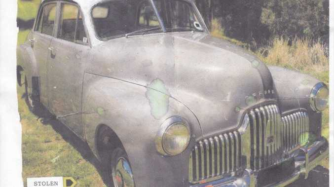 Police are looking for a 1949 FX Holden that was stolen from a Ridge Rd property in Maroochydore between May 17 and May 25.
