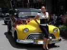 Our vehicles - 1946 Oldsmobile Hearse. Photo: Mardi Lehman