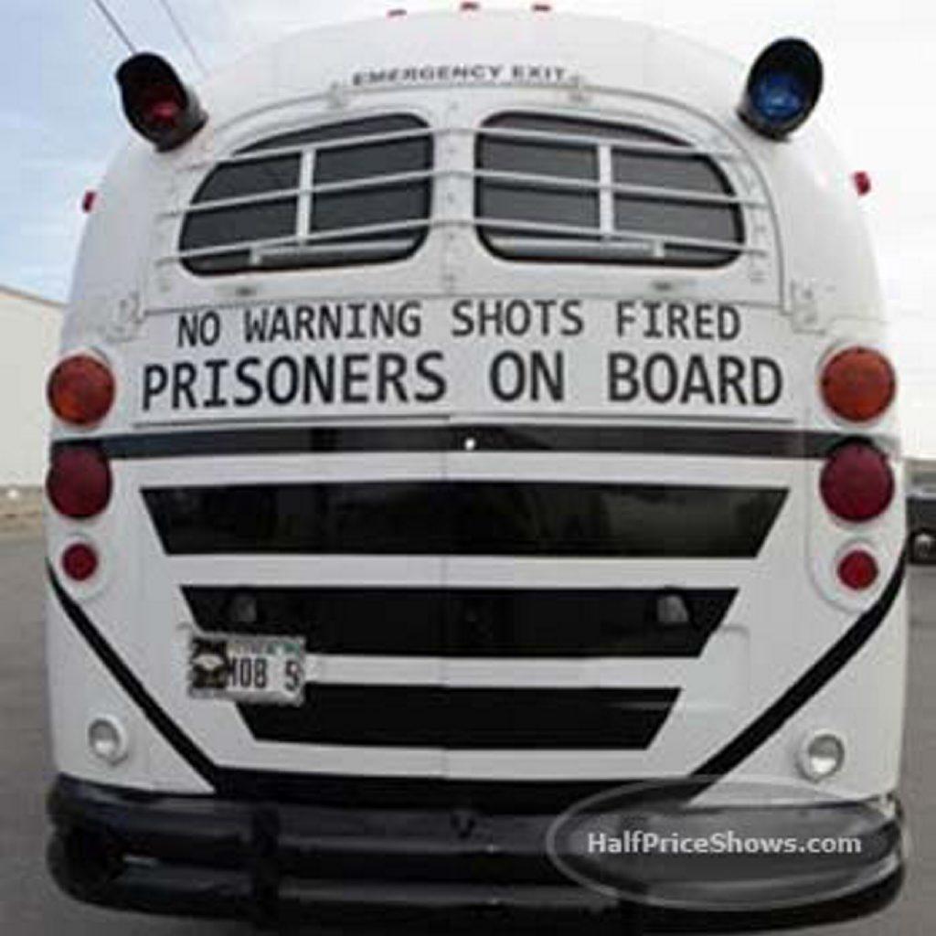 No warning shots fired - prisoners on board. Photo: Damien Cummings