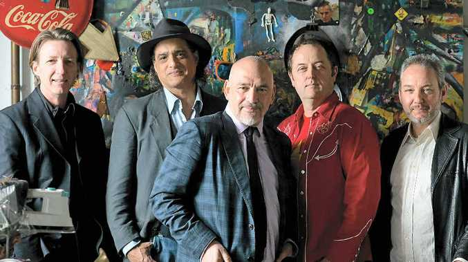 TRIUMPHANT RETURN: The Black Sorrows will perform next month at the Caloundra Powerboat Club.