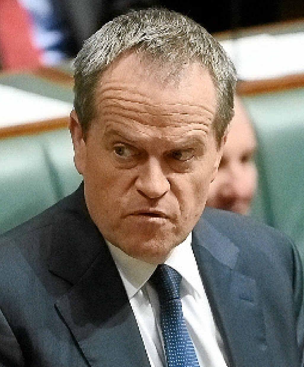 UNDER PRESSURE: Opposition Leader Bill Shorten.